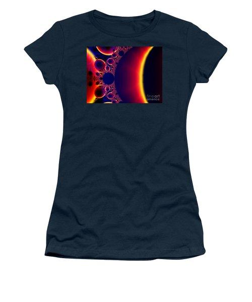 Fractal Galaxy Sunset  Women's T-Shirt