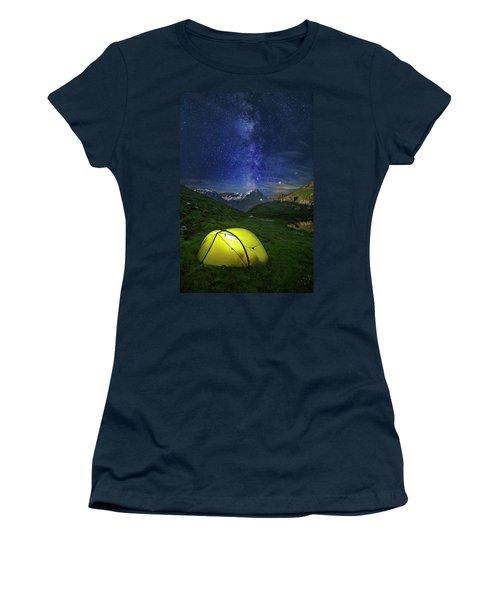 Galactic Eruption Women's T-Shirt