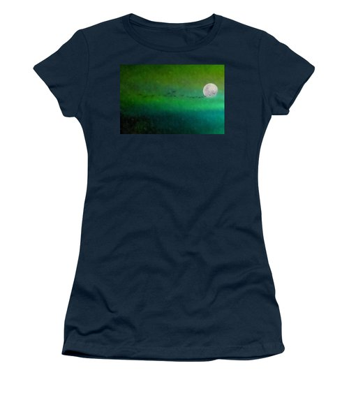 Geese In Flight  Women's T-Shirt