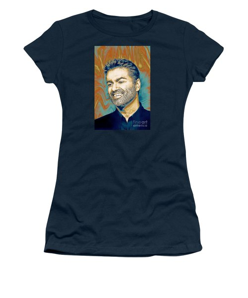 George Michael - Tribute  Women's T-Shirt (Athletic Fit)