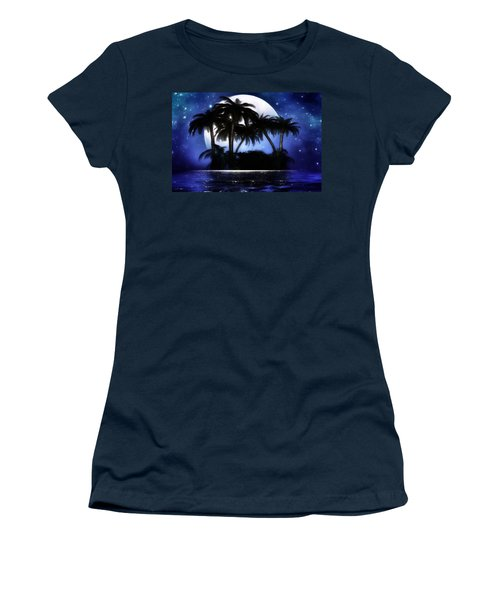 Shadow Island Women's T-Shirt (Athletic Fit)