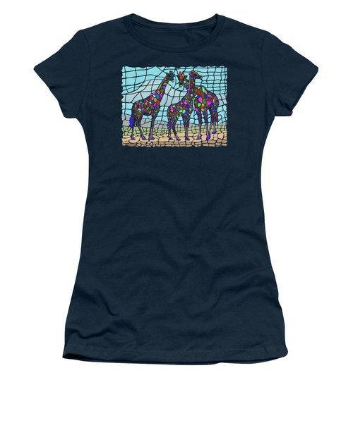 Giraffe Maze Women's T-Shirt
