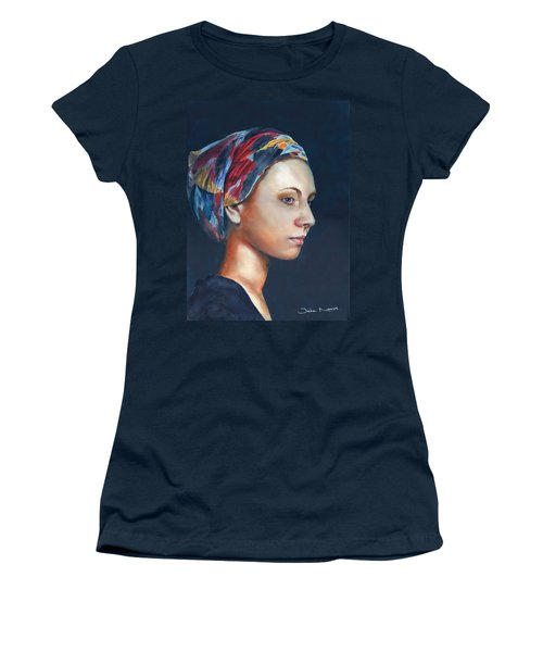 Girl With Headscarf Women's T-Shirt