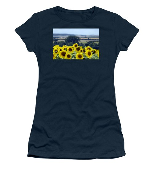 Glorious Sunflowers Women's T-Shirt