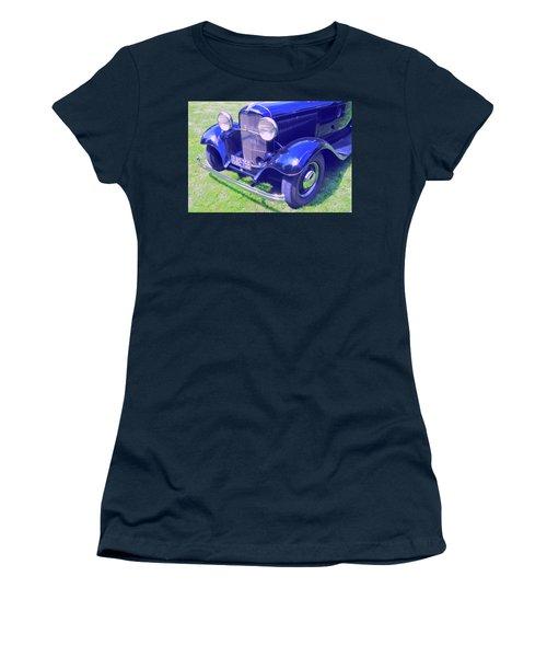 Glowing Blue Women's T-Shirt