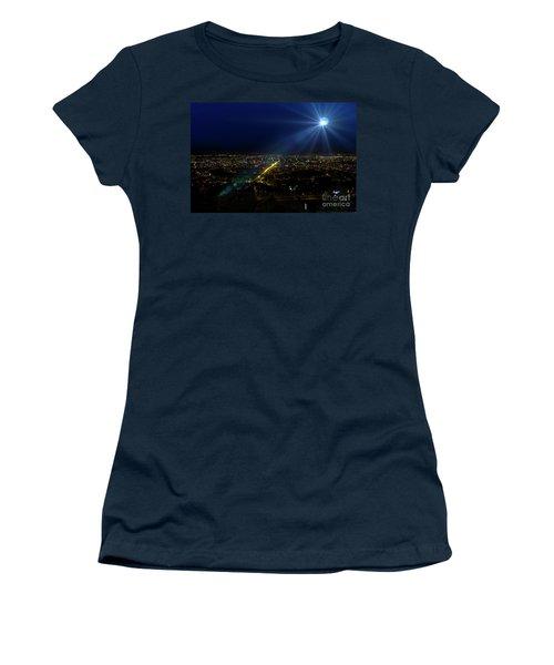 God Loves Cuenca Women's T-Shirt (Junior Cut) by Al Bourassa