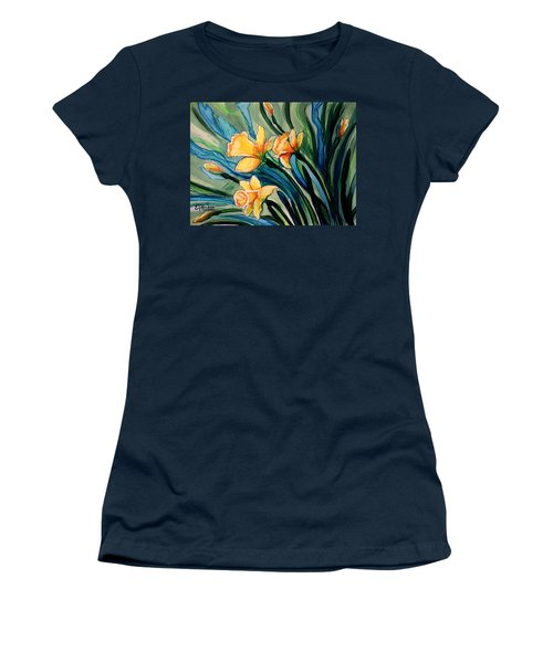 Golden Daffodils Women's T-Shirt