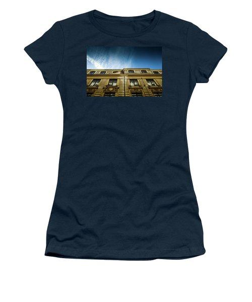 Golden Facade Women's T-Shirt (Junior Cut) by M G Whittingham