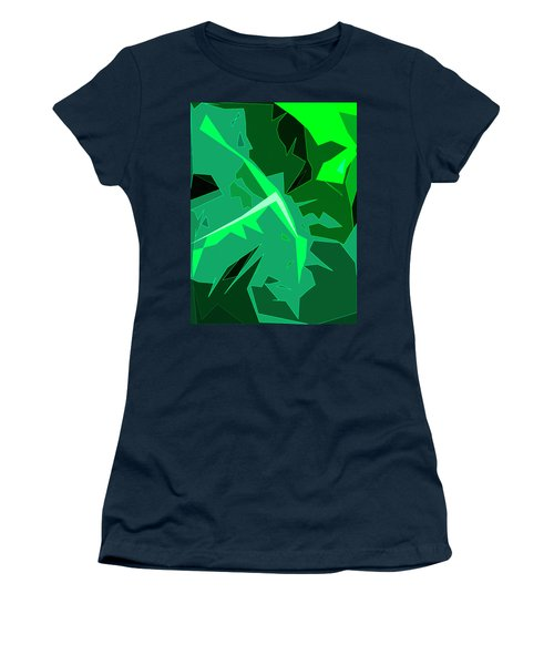 Grape Leaves Women's T-Shirt (Athletic Fit)