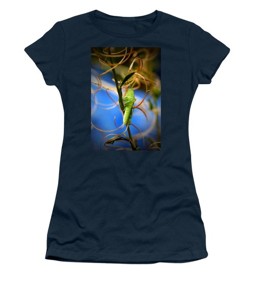 Grassy Hopper Women's T-Shirt (Athletic Fit)