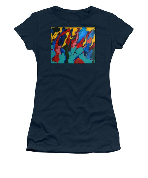 Gravity Prevails Women's T-Shirt (Junior Cut) by Bernard Goodman