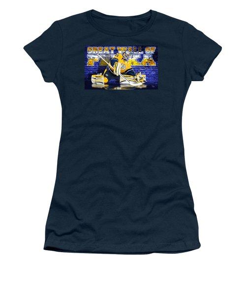 Great Wall Women's T-Shirt (Junior Cut) by Don Olea