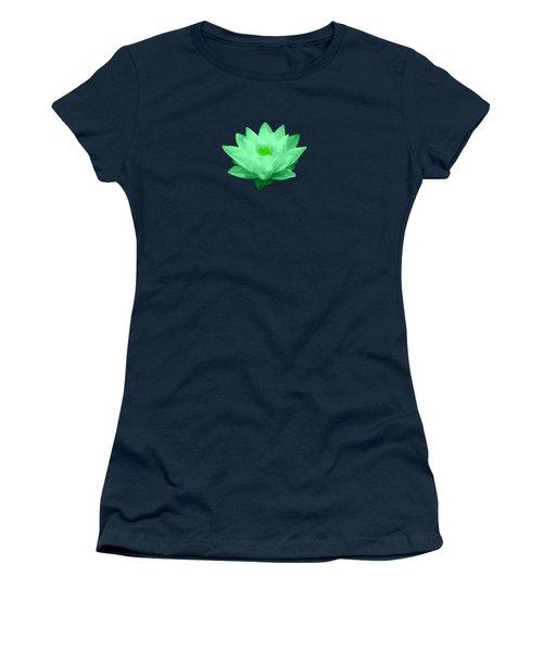 Green Lily Blossom Women's T-Shirt