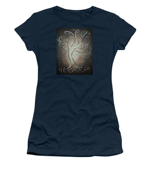 Green Tree Women's T-Shirt (Athletic Fit)