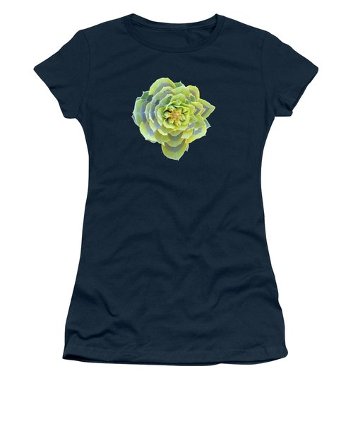 Green Weed Flower Kaliedoscope Women's T-Shirt