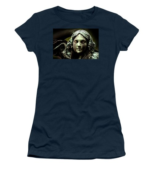 Green Woman A Portrait Women's T-Shirt
