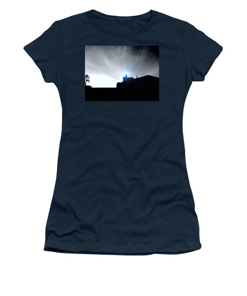 Guiding Light-alcatraz Women's T-Shirt (Athletic Fit)
