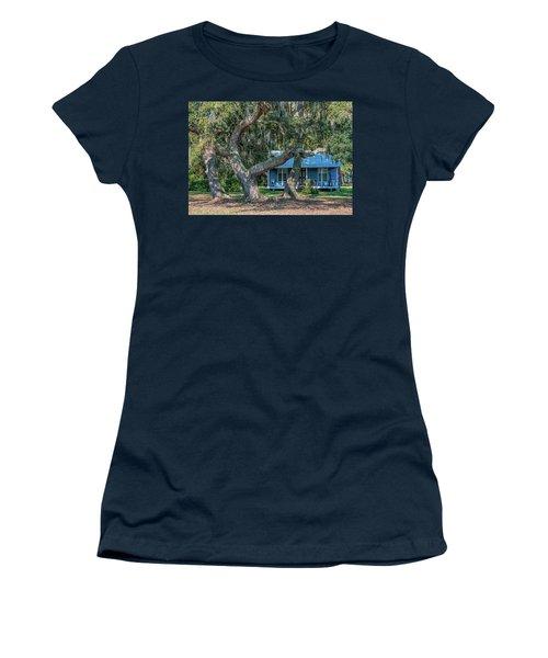 Haint Blue Women's T-Shirt (Athletic Fit)