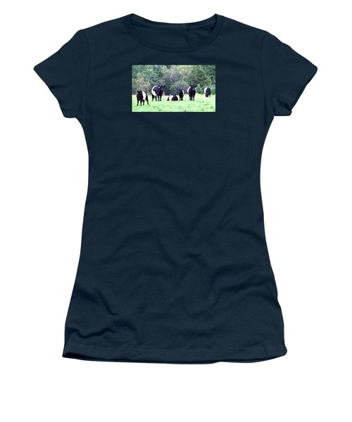 Half A Dozen Oreos Women's T-Shirt (Junior Cut) by Mike Breau