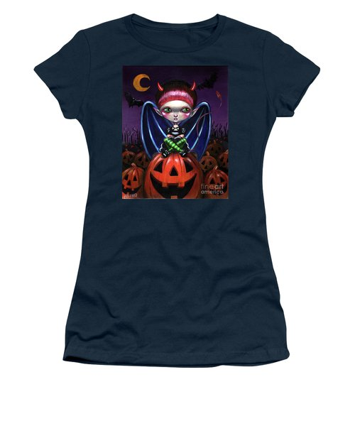 Halloween Little Devil Women's T-Shirt (Athletic Fit)