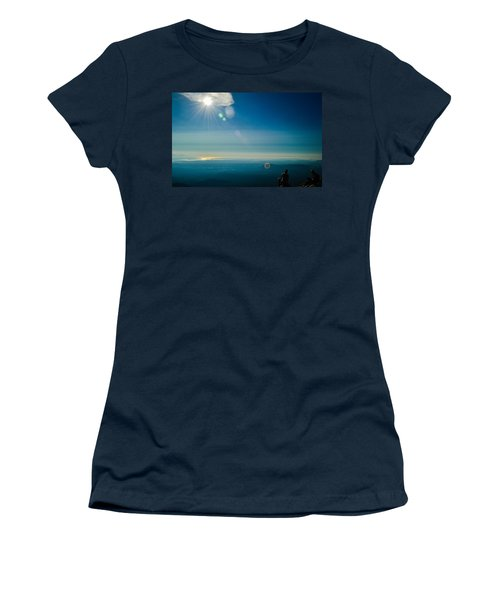 Hanging Out On The Summit Women's T-Shirt