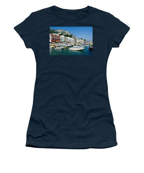 Harbor Of Isle Of Capri Women's T-Shirt