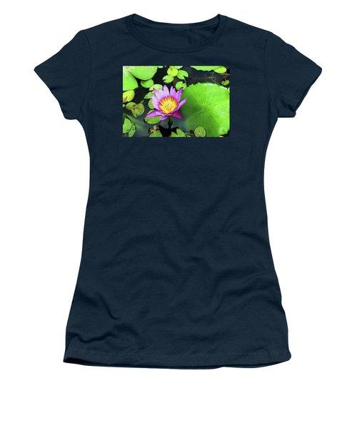 Hawaii Flora Women's T-Shirt (Junior Cut)