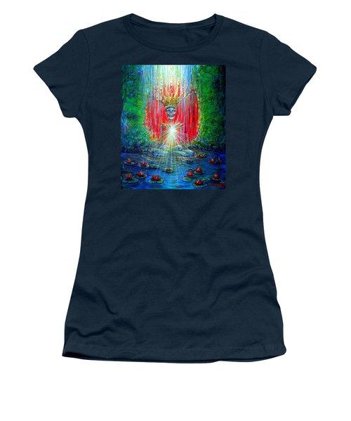Healing Waters Women's T-Shirt (Junior Cut)