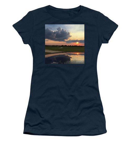 Heavenly Sunset Women's T-Shirt (Athletic Fit)