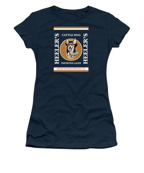 Heeler's Cattle Dog Imported Lager Women's T-Shirt (Athletic Fit)