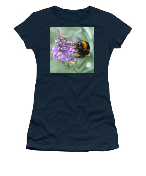 Women's T-Shirt featuring the photograph Hello Flower by Ivana Westin