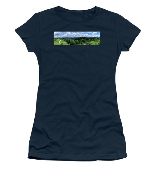 Hills And Clouds Women's T-Shirt