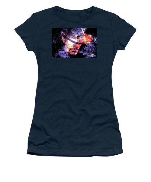 His Love Song  Women's T-Shirt (Junior Cut) by Annie Zeno