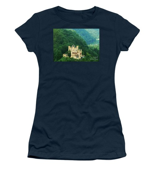 Hohenschwangau Castle 1 Women's T-Shirt (Junior Cut) by Rudi Prott