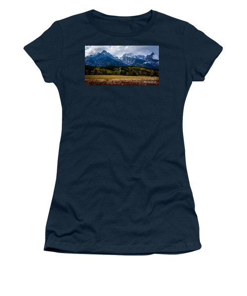 Home Sweet Home Women's T-Shirt (Junior Cut) by Sandy Molinaro