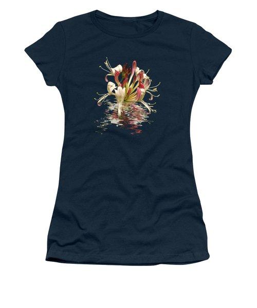 Honeysuckle Reflections Vertical Women's T-Shirt