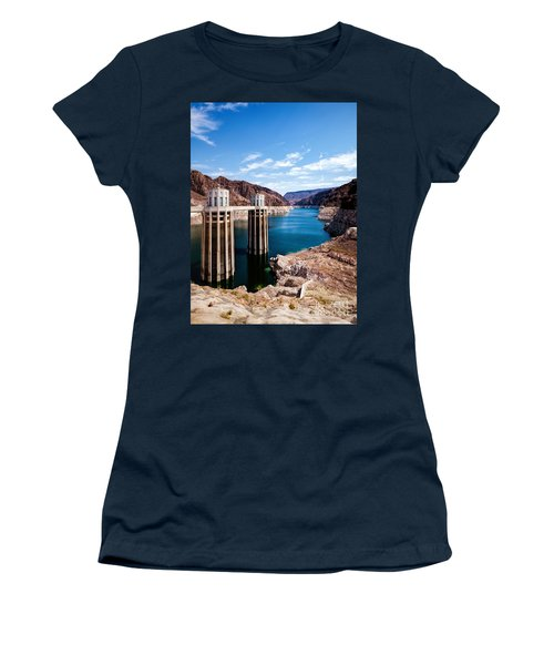 Hoover Dam Women's T-Shirt (Athletic Fit)