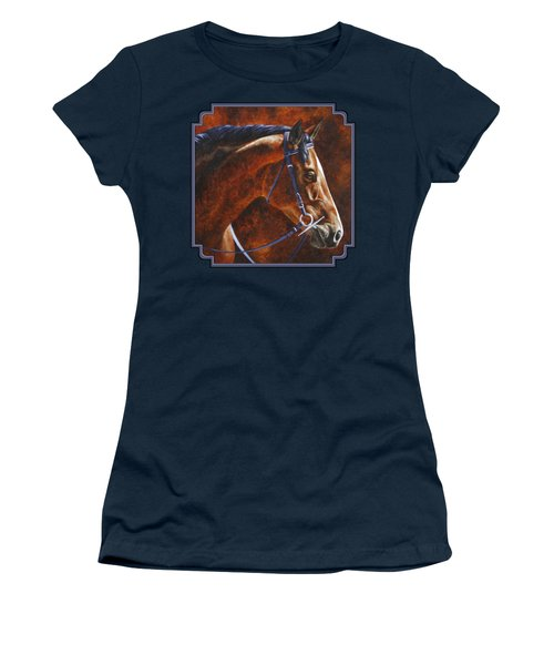 Horse Painting - Ziggy Women's T-Shirt (Athletic Fit)