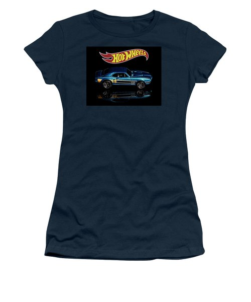 Hot Wheels '67 Pontiac Firebird 400-1 Women's T-Shirt