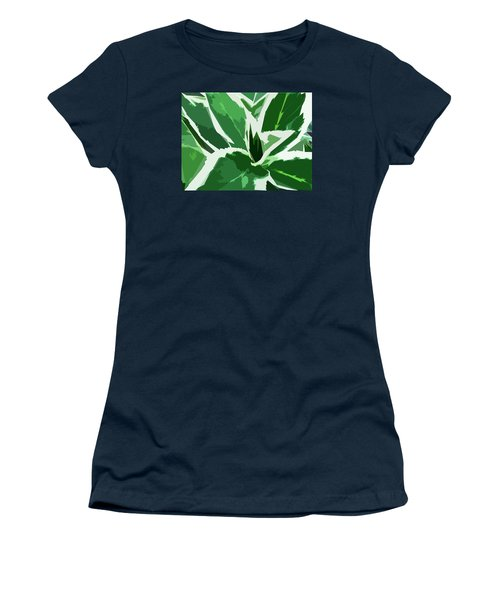 Hydrangea Women's T-Shirt (Athletic Fit)