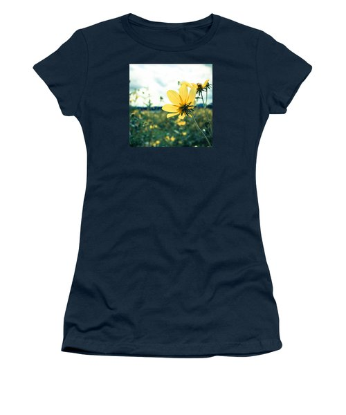 Women's T-Shirt (Junior Cut) featuring the photograph I Am Feeling Pretty Good And That Is The Truth by Wade Brooks