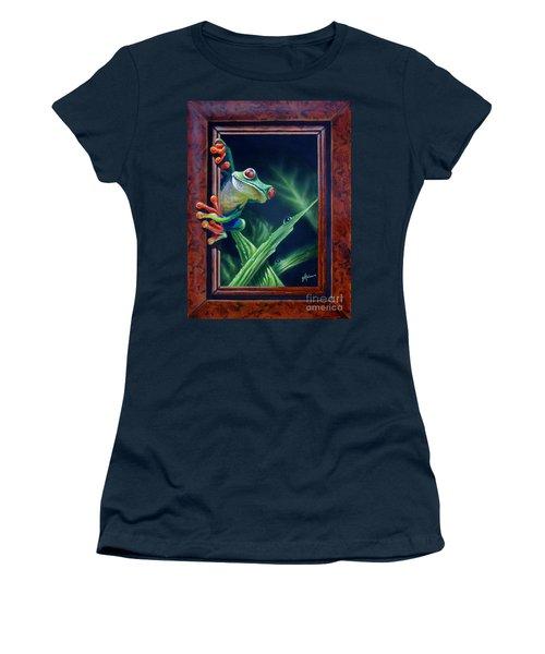 'i Was Framed' Women's T-Shirt