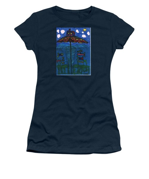 In Search Of Life Women's T-Shirt (Junior Cut) by Darrell Black