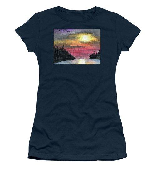 Inlet Women's T-Shirt (Junior Cut) by R Kyllo