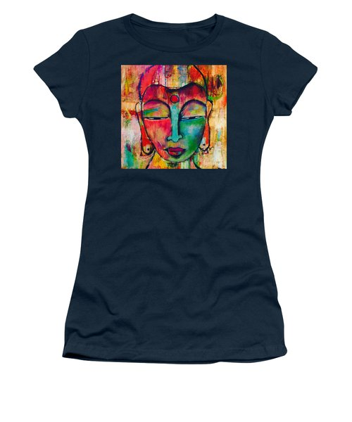 Inner Buddha  Women's T-Shirt (Athletic Fit)