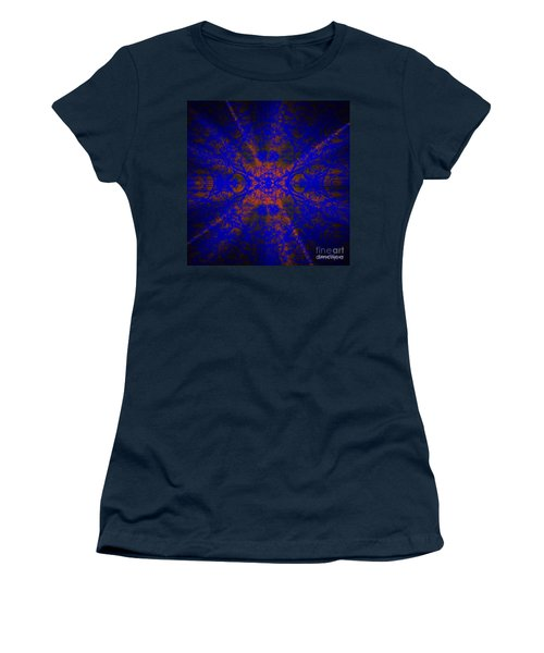 Inner Glow - Abstract Women's T-Shirt (Athletic Fit)