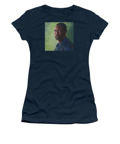 Intense Gaze Women's T-Shirt (Junior Cut) by Connie Schaertl