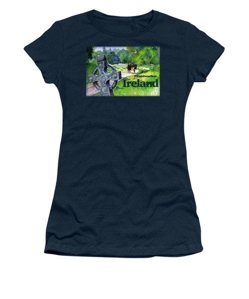 Ireland Shirt Women's T-Shirt (Athletic Fit)