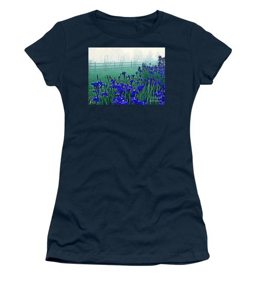 Irises At Dawn 3 Women's T-Shirt (Athletic Fit)