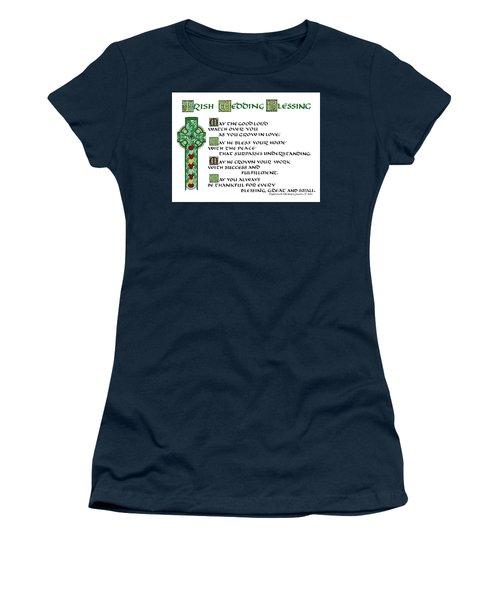 Irish Celtic Wedding Blessing Women's T-Shirt